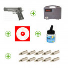Pack 1911 + CO2 + malette + billes + cibles
