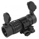 Magnifier x3 Noir avec QD flip to slide mount