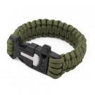Bracelet de survie vert