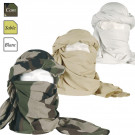 Chèche (écharpe) dimension 1m05 x 2m25, camouflage